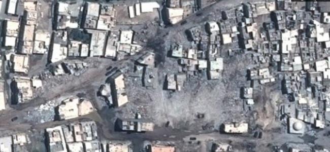 Suudi Askerlerin Kuşattığı Avamiye'deki Tahribatın Görüntüleri Ortaya Çıktı