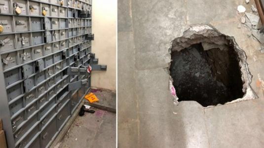 Tünel Kazarak Bankayı Soyan Hırsızlar Kayıplara Karıştı