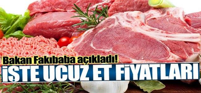 Gıda Tarım ve Hayvancılık Bakanından Ucuz Et Açıklaması!