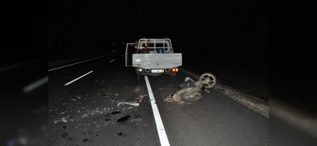 Kasklı Motosiklet Sürücüsü Hastanede Hayatını Kaybetti