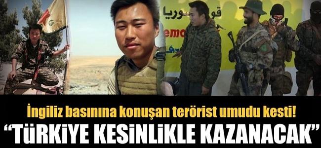 """İngiliz Terörist The Times'a Konuştu """"Türkiye'yi Durduramayız Kesinlikle Kazanacak"""" dedi"""
