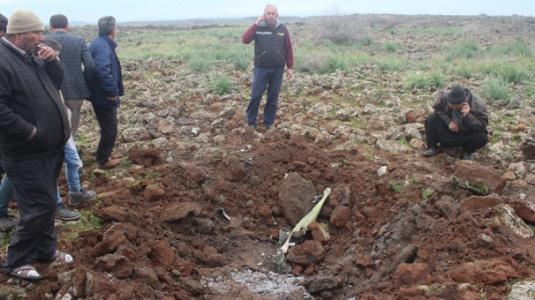 Kırıkhan'a 5 Roket Atıldı: Ölü ve Yaralı Olmadı