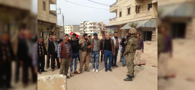 Afrin Halkı Terörist Avında! TSK'ya Teslim Ettiler
