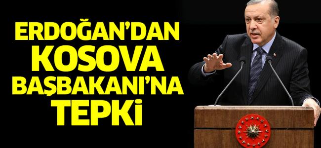 """Erdoğan Kosova Başbakanı'na Sert Çıktı!""""Kimin Talimatıyla Adım Attın?"""""""