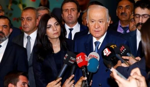 Bahçeli'den Çok Sert Tepki: Demokrasi Katilleri, Alayı Lekeli!