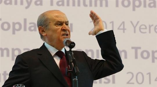 MHP Lideri Bahçeli: Alayını Sudan Çıkmış Balığa Çevireceğiz!