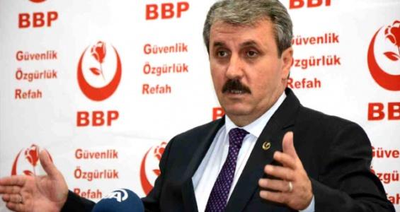 BBP Lideri Destici, Yerel Seçimler İçin Niyetini Belli Etti!