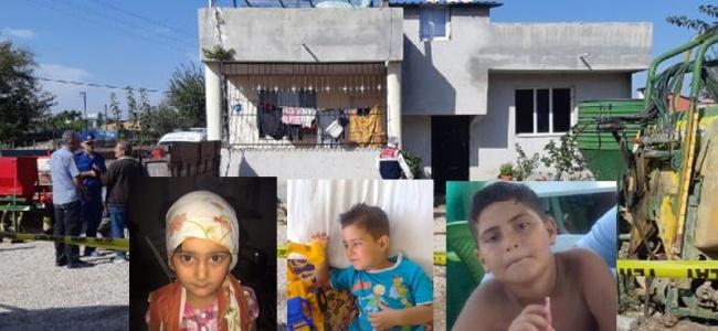 Dehşet Cinayetin Detayları: 3 Çocuğunun Başını Kesip Yanlarına Dizmiş!