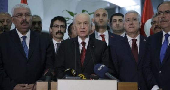 MHP Lideri Devlet Bahçeli Vekillere 2 Talimat Verdi!