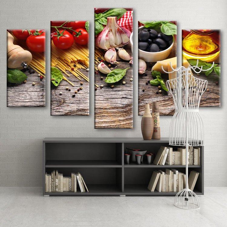 Kanvas Tablo - Mutfak Tabloları