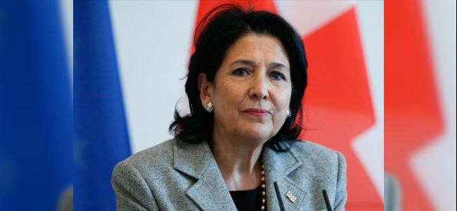 """Gürcistan Cumhurbaşkanı Zurabişvili """"Abhaz ve Osetlerin dil ve kimliklerinin tehdit altında"""""""