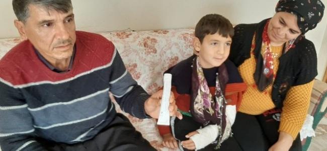 Krem verilerek hastaneden gönderilen çocuğun kolunun kırık olduğu ortaya çıktı