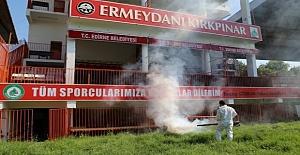 Edirne'deki Kırkpınar Yağlı Güreşleri Alanı Sineklerden Arındırılıyor