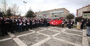 Beyşehir'de Sarıkamış Şehitleri Unutulmadı