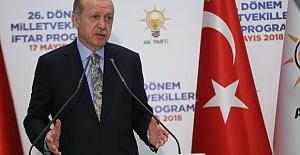 Cumhurbaşkanı Erdoğan`dan Çağrı: Göreve Hazır Olun