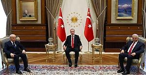 Erdoğan-Bahçeli Görüşmesinden İlk Detaylar!