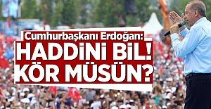 Erdoğan İnce'ye Sert Çıktı: Kör Müsün Muharrem?