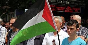 Sakarya'da İsrail'e Karşı Protestolar Devam Etti