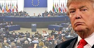 Avrupa Parlamentosu'ndan Trump'ı Kızdıracak Açıklama!
