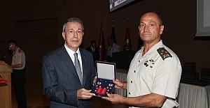 TSK'da Terfi Töreni..İsmail Metin Temel Yeni Rütbesini Aldı!