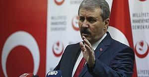 BBP Lideri Destici'den Net Mesaj: Gerekirse Bedel Ödeyeceğiz!