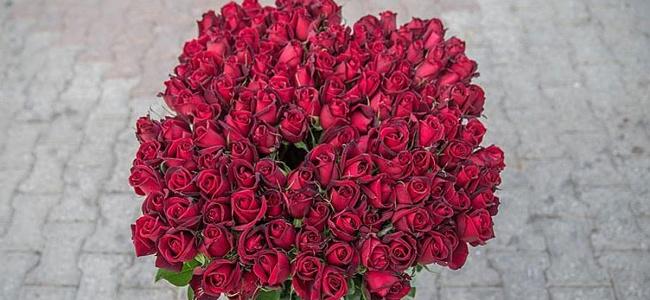 Sevgililer Günü'nde Hedef 3.5 Milyon Gül Satışı