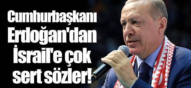 Cumhurbaşkanı Erdoğan Netanyahu'ya tepki gösterdi