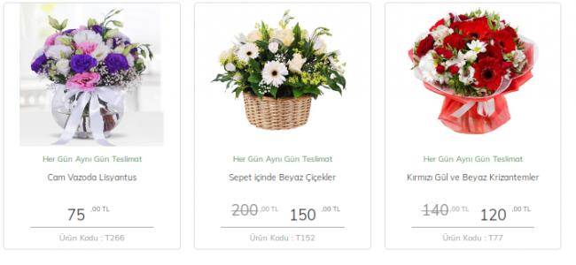 Antalya Çiçek Gönderimi