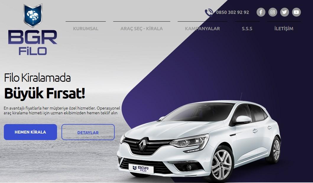 Renault Clio Filo Kiralama
