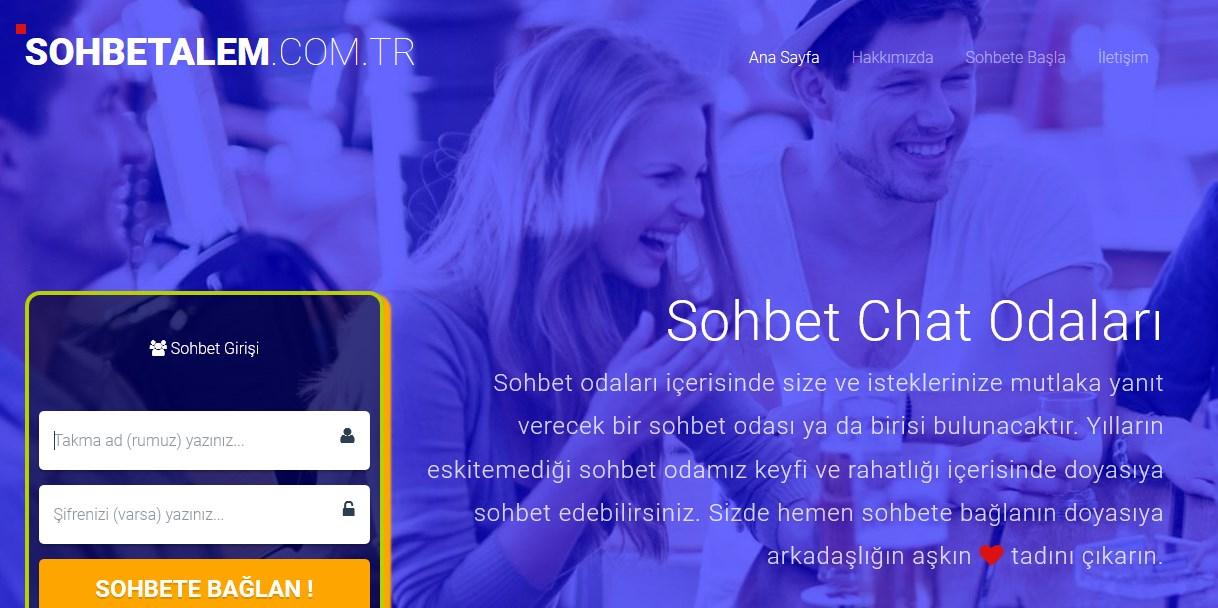 Sohbet Odaları - Chat