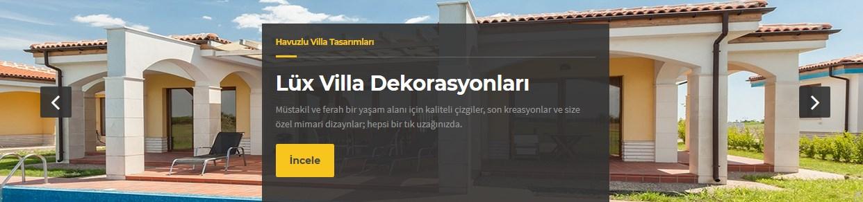Anahtar Teslim Villa