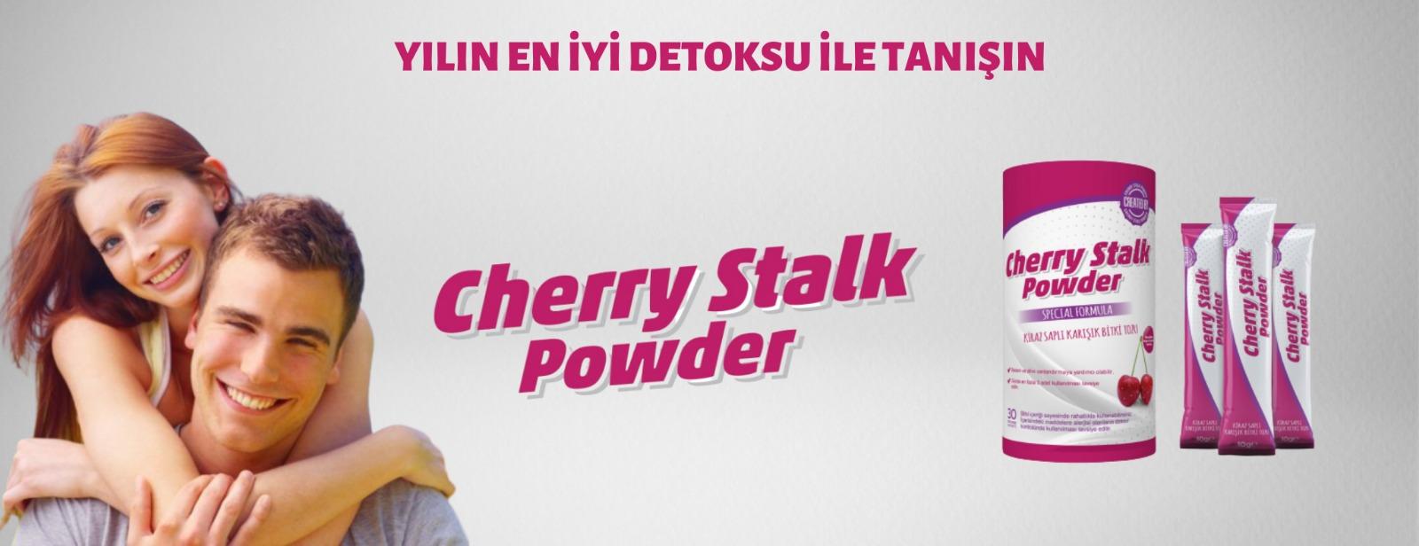 Cherry Stalk Powder Artık Türkiye'de !