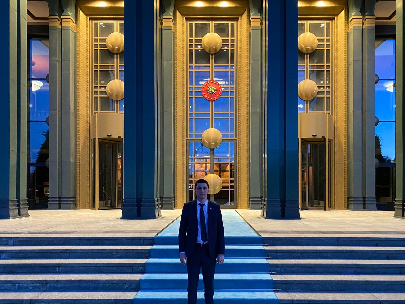 Mert Şener, Cumhurbaşkanı Erdoğan'ı ziyaret etti