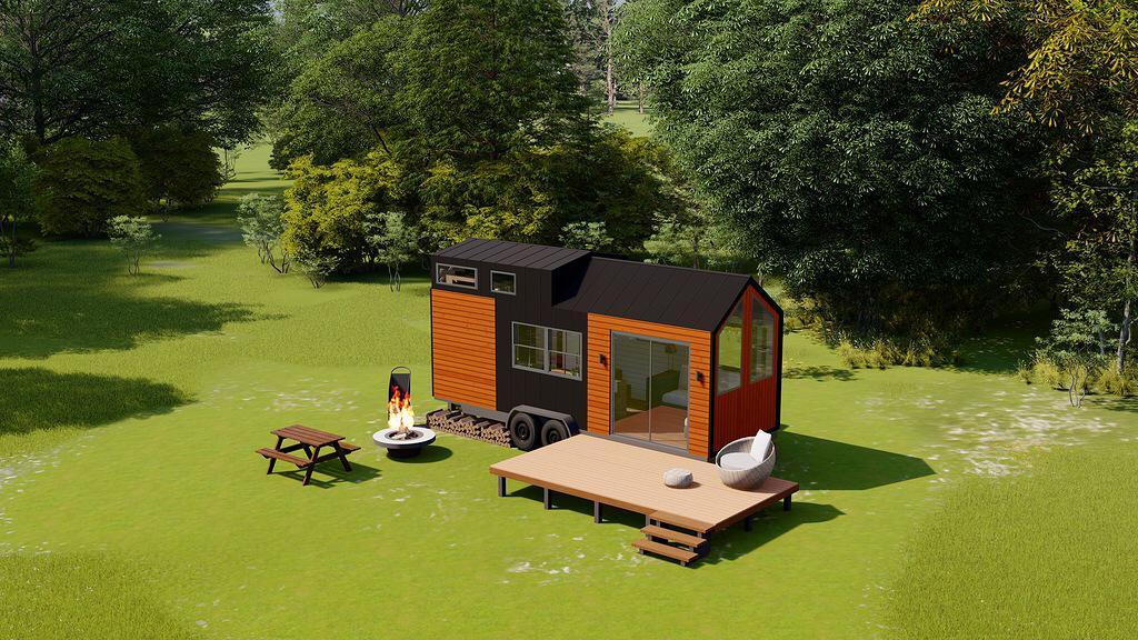 Gorgor House küçük evleri üretip 35 ülkeye ihraç ediyor