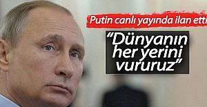 Putin'den Canlı Yayında Nükleer Tehdit!