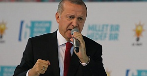 Erdoğan Kongrede Meydan Okudu: Teslim Olmayacağız!
