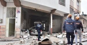 Gaziantep'te Kanalizasyonda Patlama Yaşandı