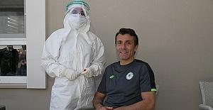 Konyaspor'da koronavirüs Kalebet testleri negatif çıktı