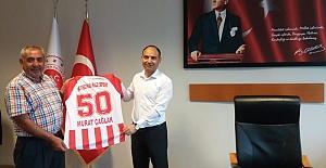 Nevşehirspor'dan, Başsavcı Vekili Murat Çağlak'a Hediye Forma